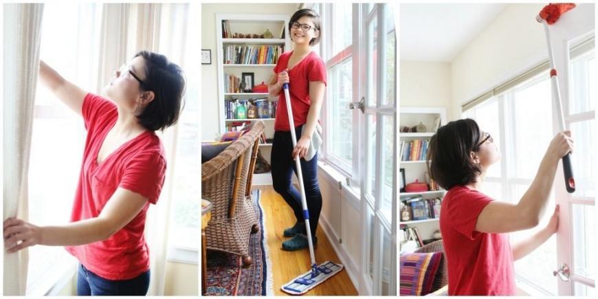 عادات سحرية للنظافة المنزلية
