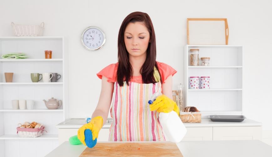 كيف تنظفين المنزل