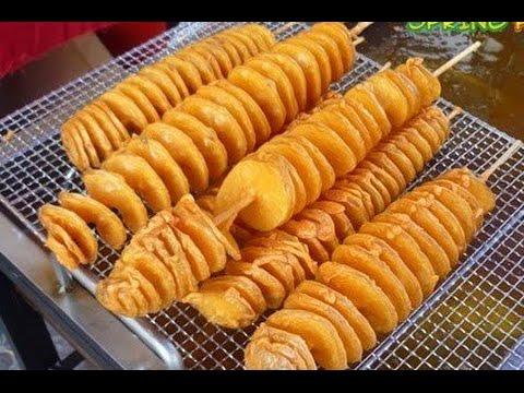 الوصفة السهلة في الصيف البطاطس التورنيدو