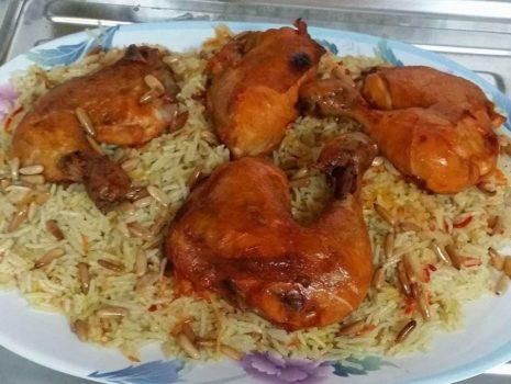 الدجاج بالأرز والبابريكا