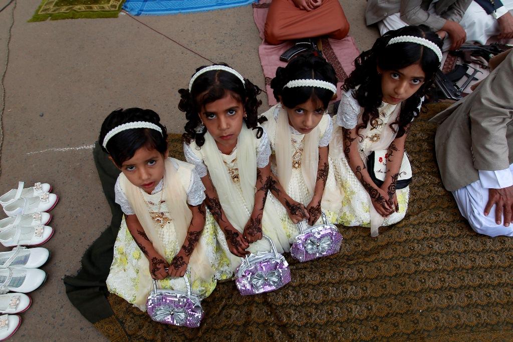إحتفالات عيد الفطر في اليمن