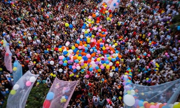 إحتفالات عيد الفطر في مصر