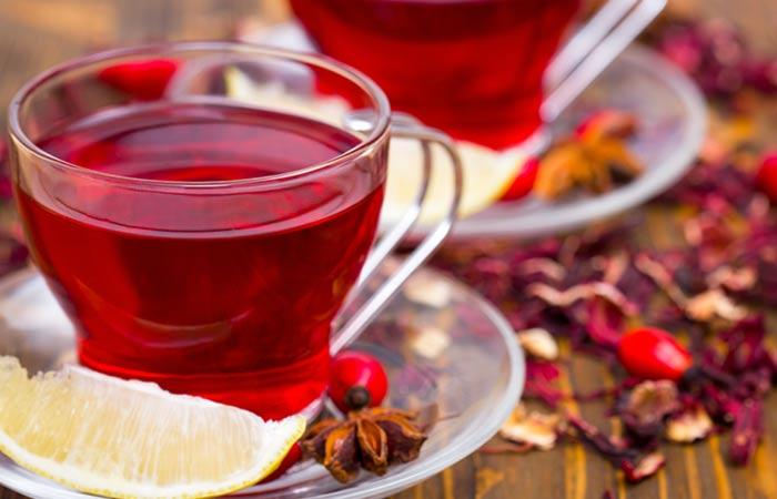 شاي الكركدية
