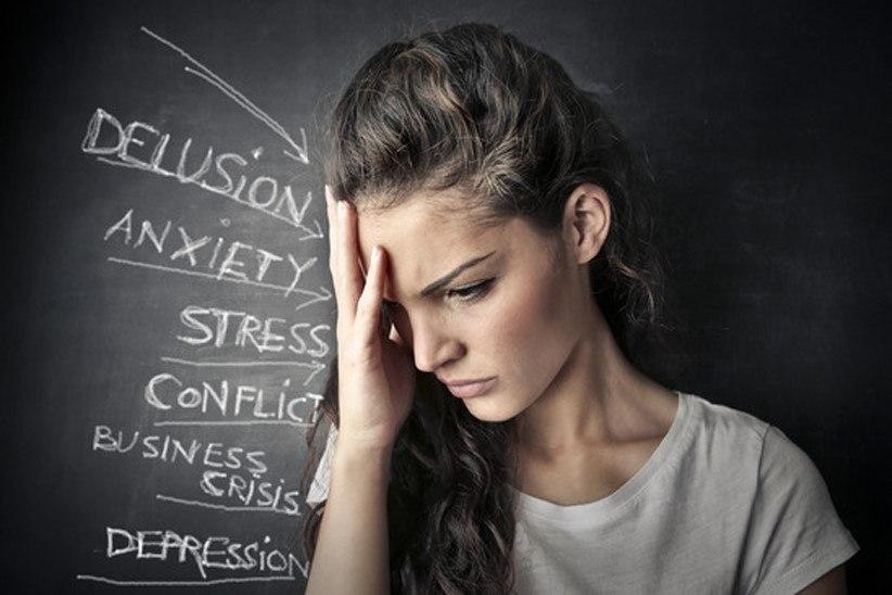 أعراض الضغط النفسي والقلق