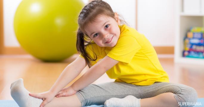 تمارين رياضية للبنات الصغار والفتيات أيضًا