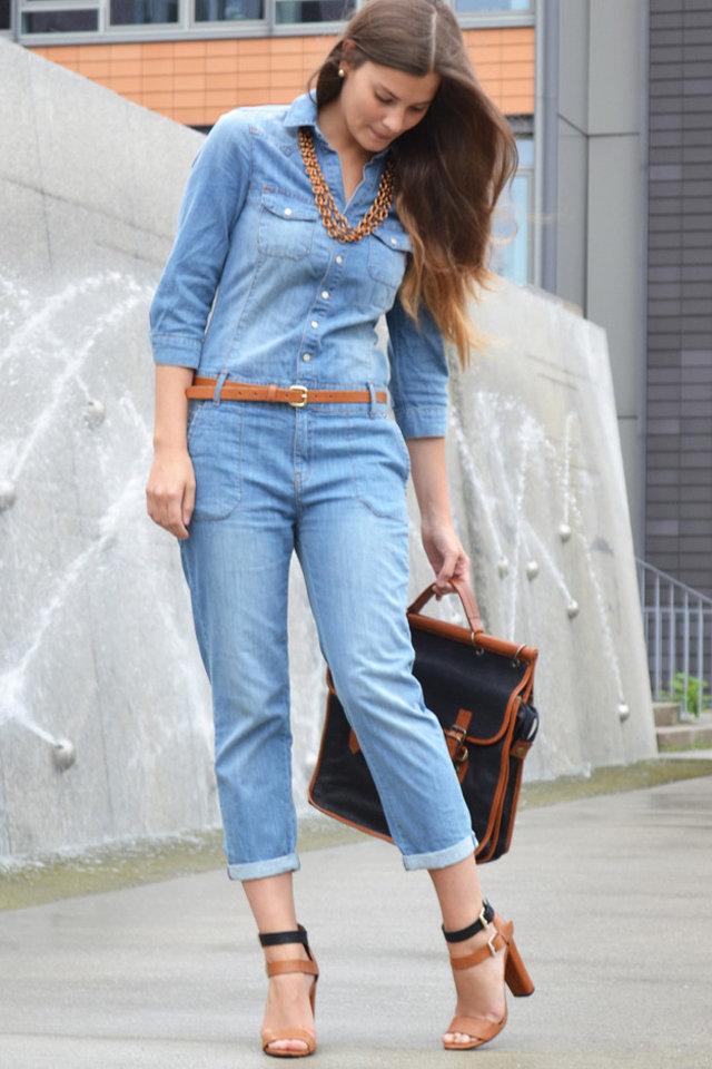 لبس جمبسوت جينز