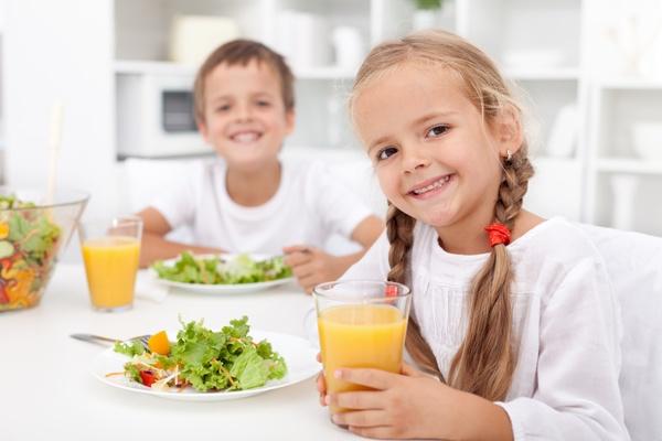 نظام غذائي للاطفال لزيادة الوزن