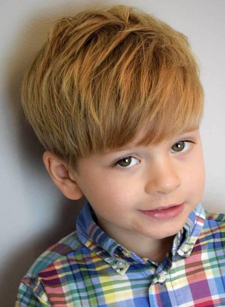 قصات شعر قصير للأطفال