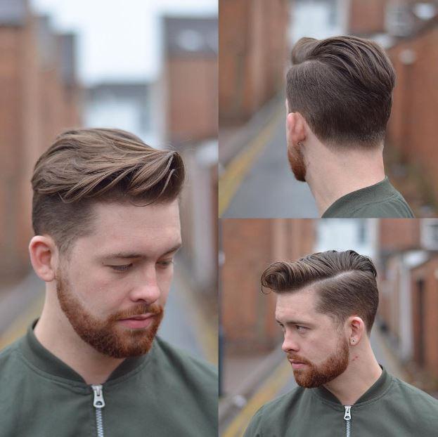قصات شعر قصير رجالي