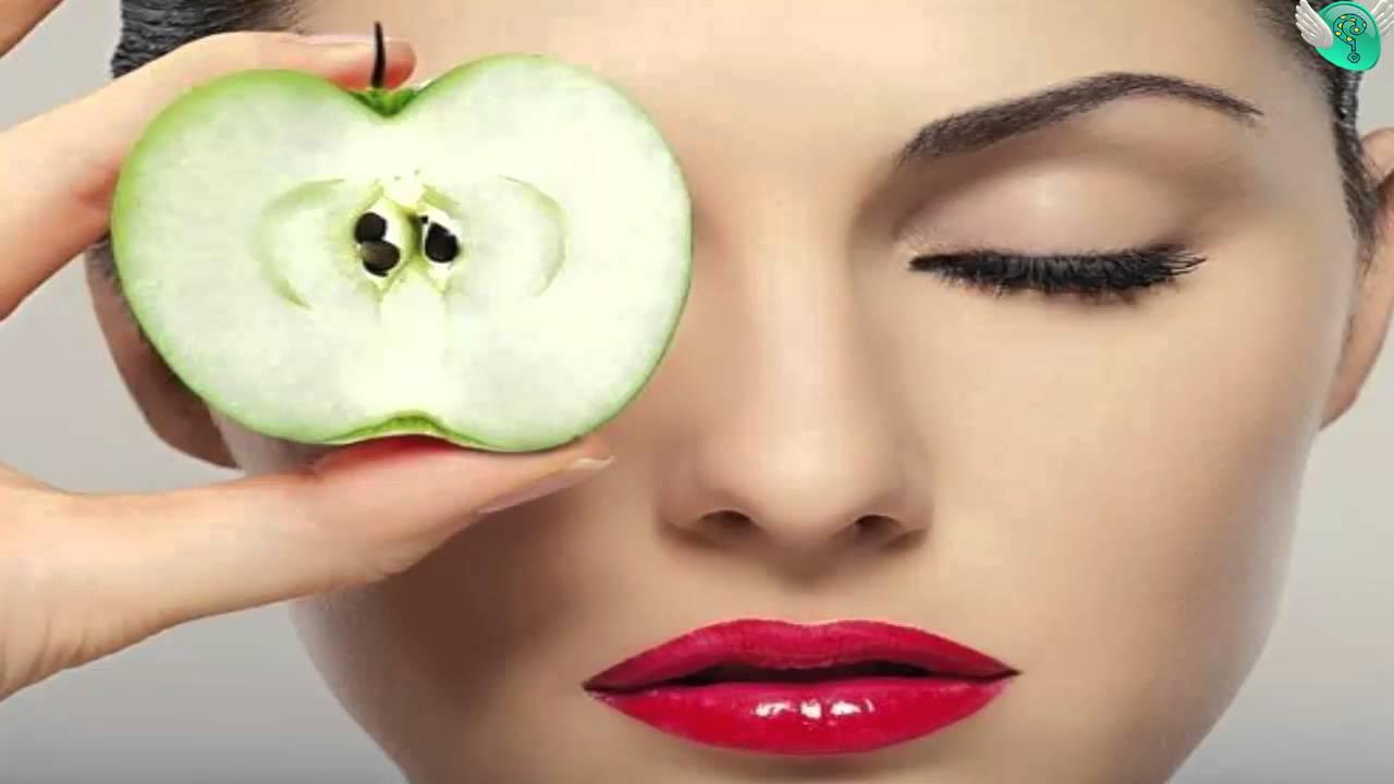 التفاح والبشرة