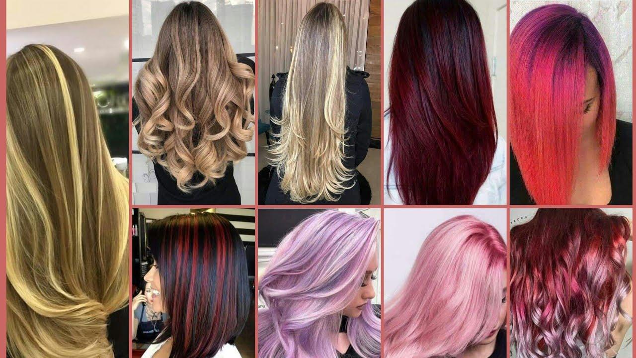 ألوان شعر 2021