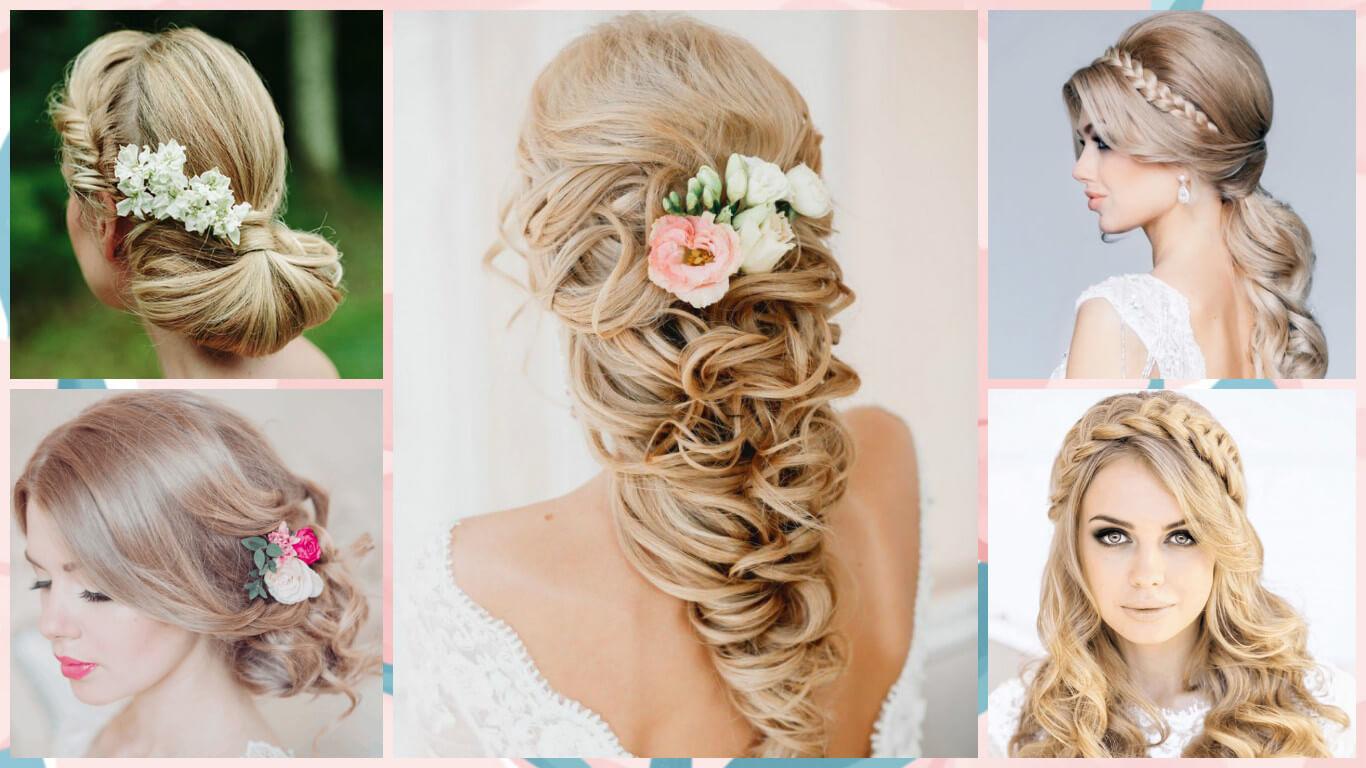 تسريحات شعر بسيطة للعروسة