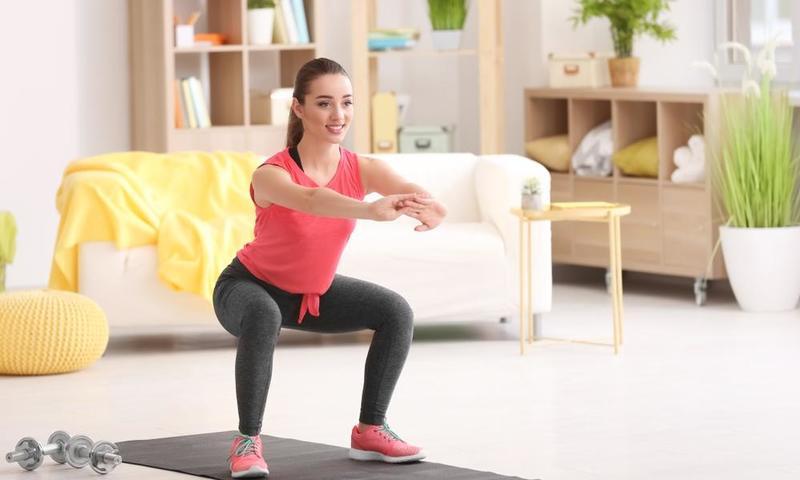 تمارين عضلات الحوض