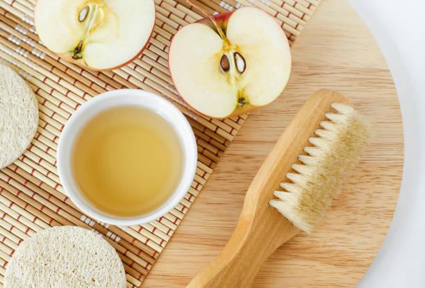 علاج القشرة بخل التفاح، وفوائد خل التفاح للشعر!