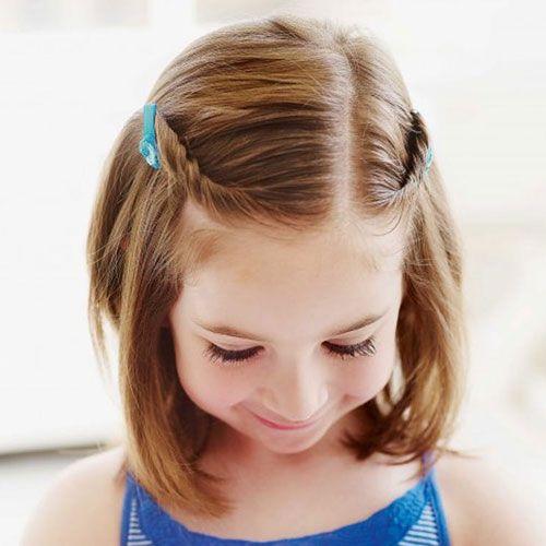 تسريحات للشعر القصير للاطفال للمناسبات