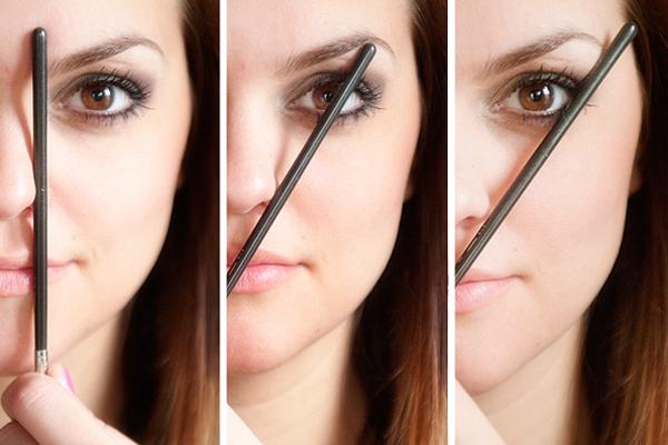 رسمة الحواجب المناسبة لكل وجه