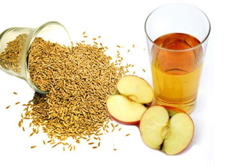 فوائد الكمون مع خل التفاح