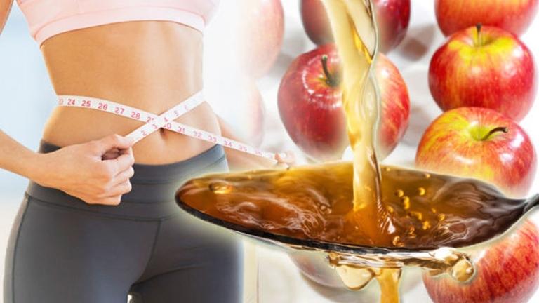 فوائد خل التفاح في التخسيس