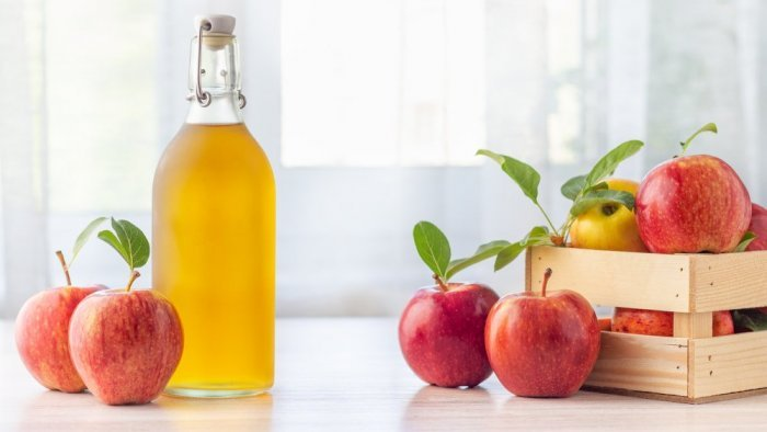 فوائد خل التفاح للمعدة والقولون
