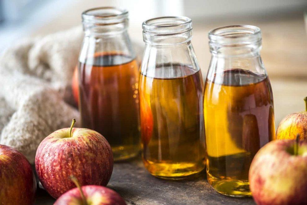فوائد خل التفاح للهالات السوداء