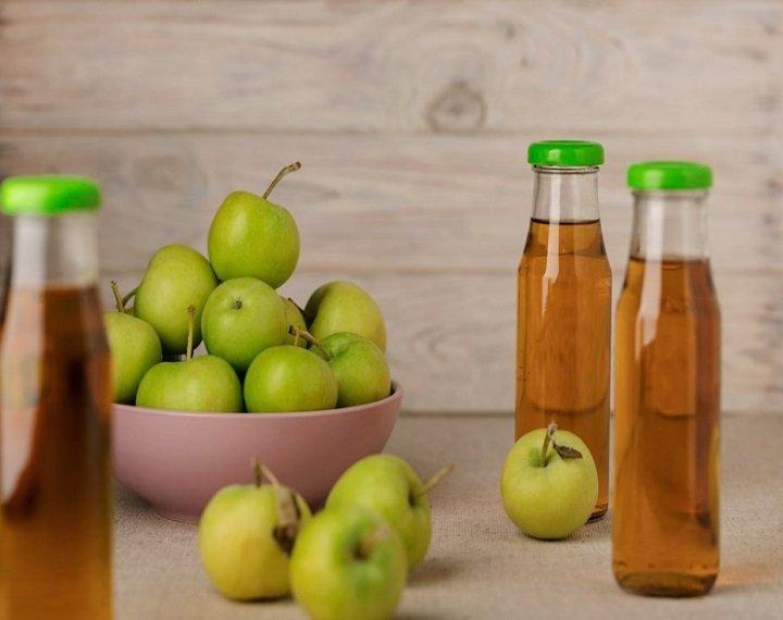 فوائد خل التفاح مع الماء بعد الأكل