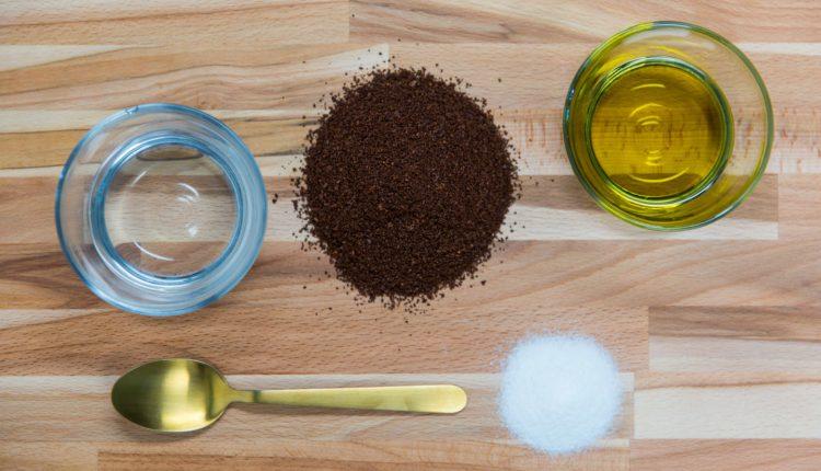 ماسك لتفتيح البشرة بالقهوة