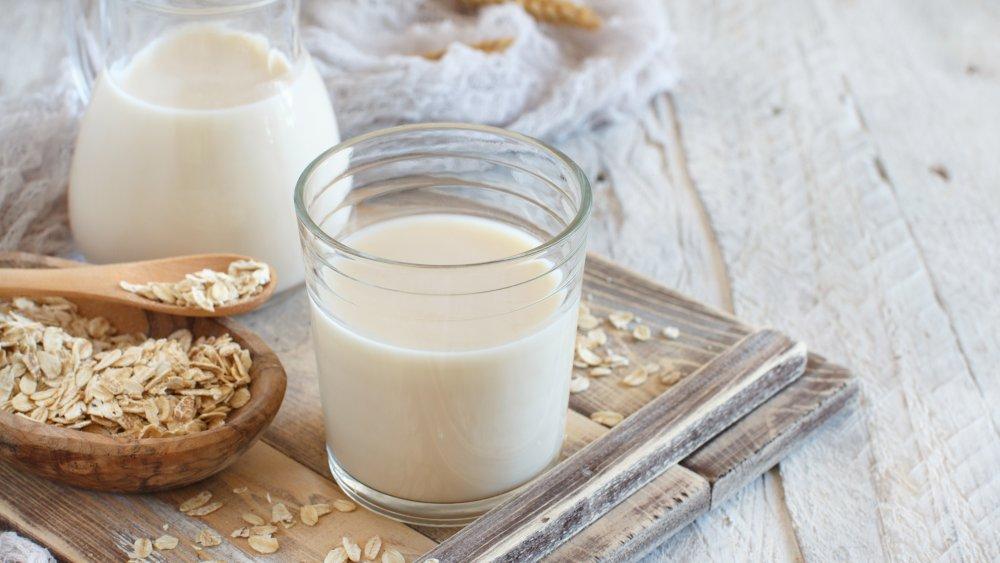 هل الشوفان مع الحليب يزيد الوزن