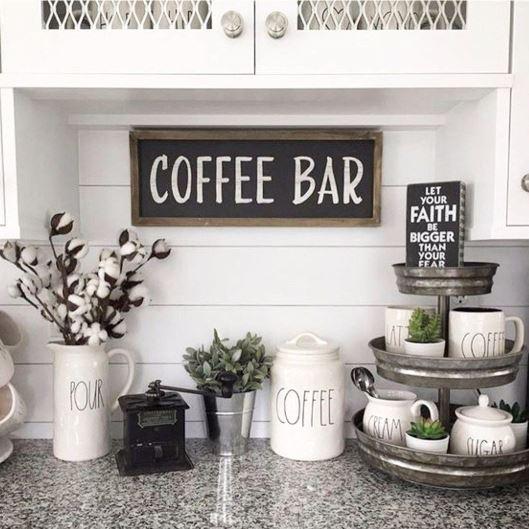 أفكار ركن قهوة