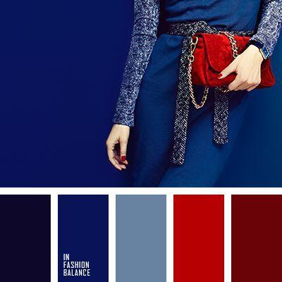الالوان التي تناسب اللون الازرق الغامق في الملابس