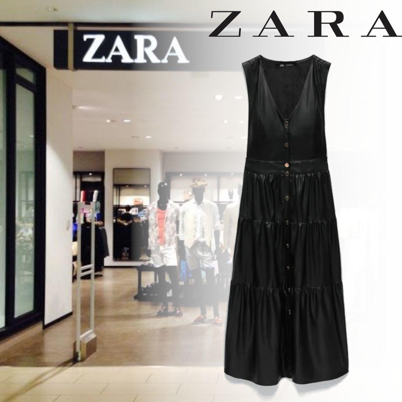 فستان جلد زارا