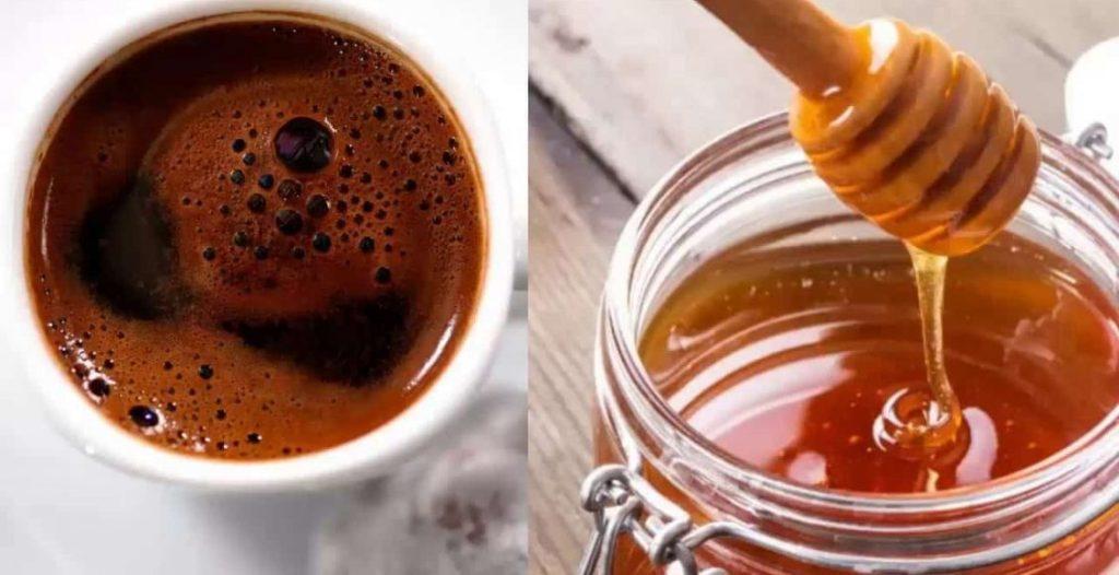 ماسك القهوة مع العسل