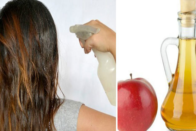 وصفات لتطويل الشعر بخل التفاح