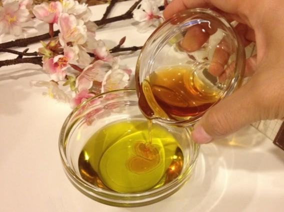 وصفة العسل وزيت الزيتون