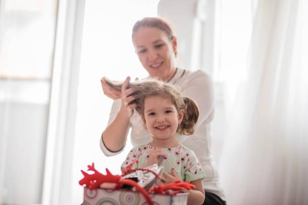 وصفات لتكثيف الشعر للاطفال