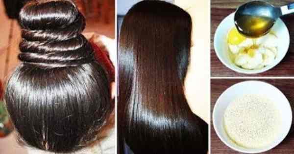 خلطة لتنعيم الشعر مثل الحرير