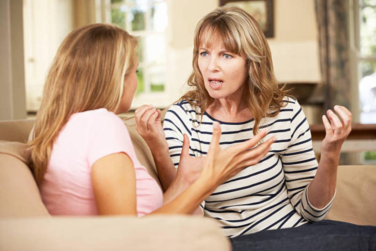 كيفية التعامل مع الام النرسية