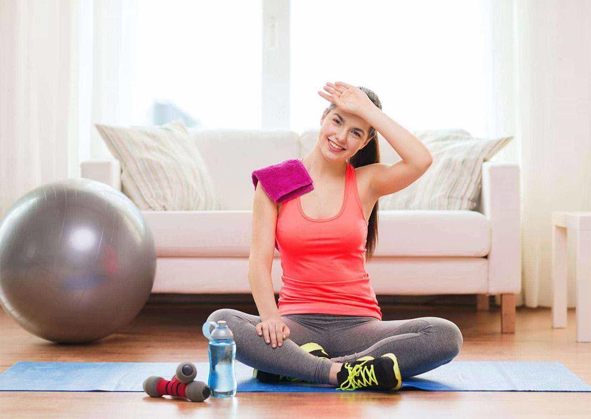 تمارين تساعد على نزول الدورة الشهرية