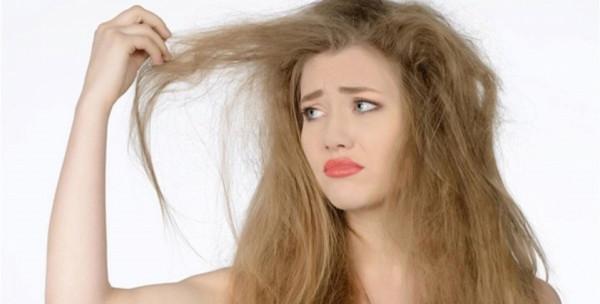 علاج الشعر التالف من الصبغات