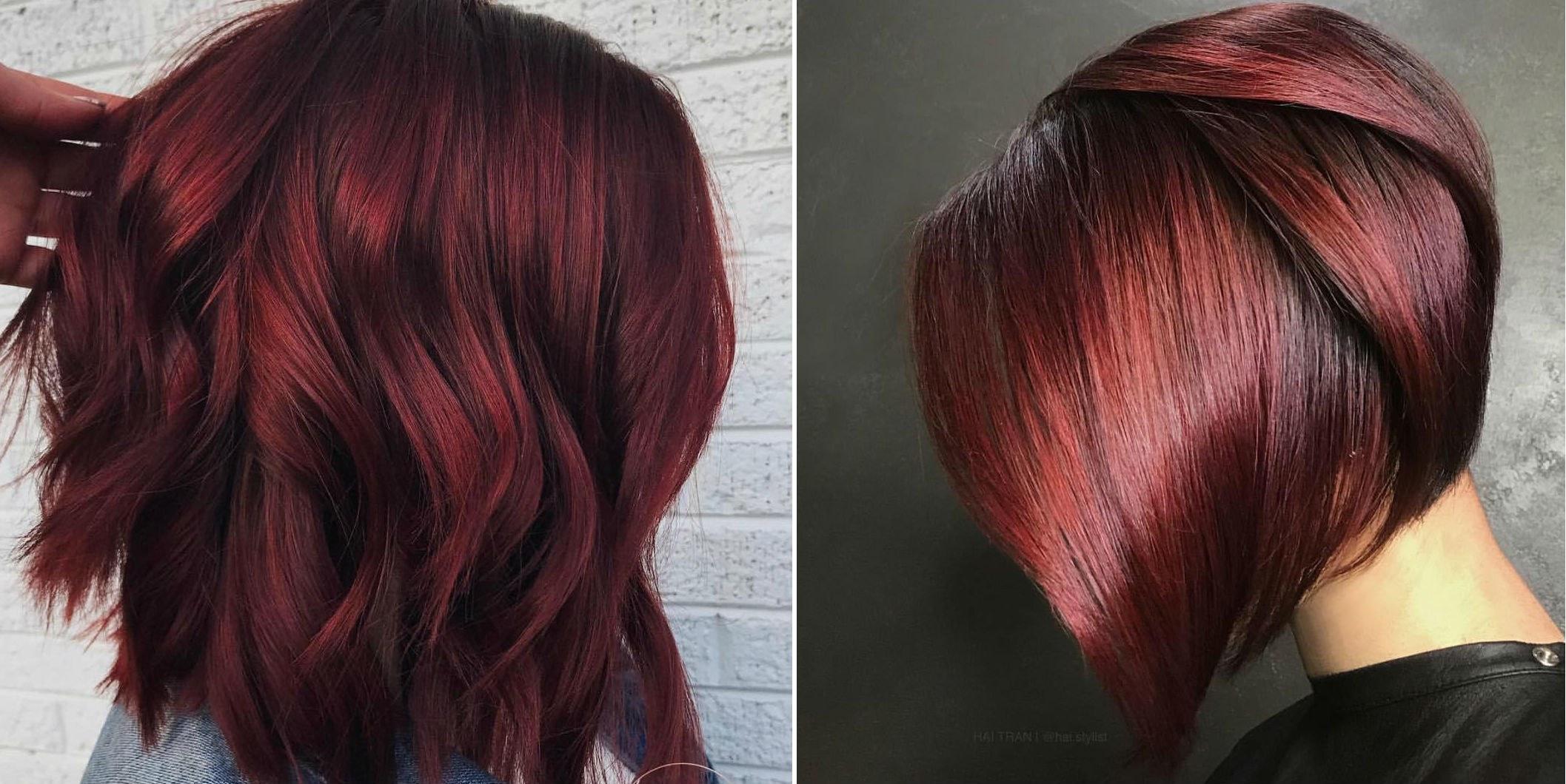 صبغ شعر أحمر توتي