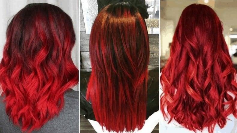 كيفية صبغ الشعر باللون الأحمر الناري