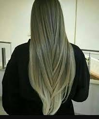 لون شعر زيتوني ثلجي