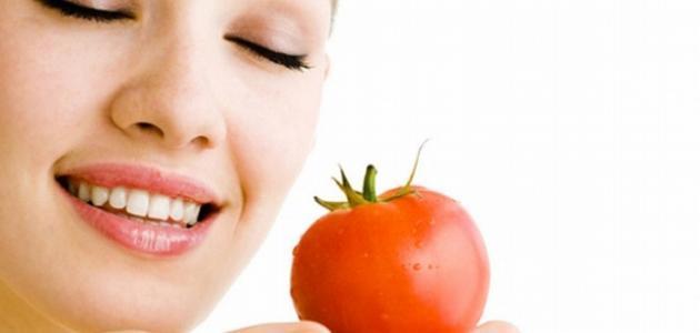 ماسك الطماطم للوجه