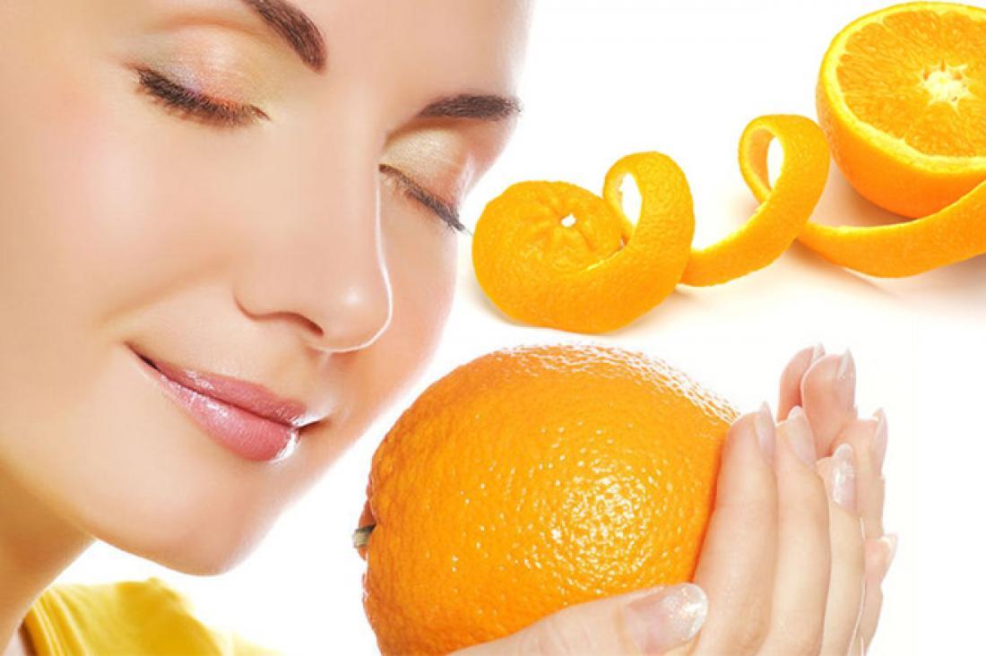البرتقال والكركم