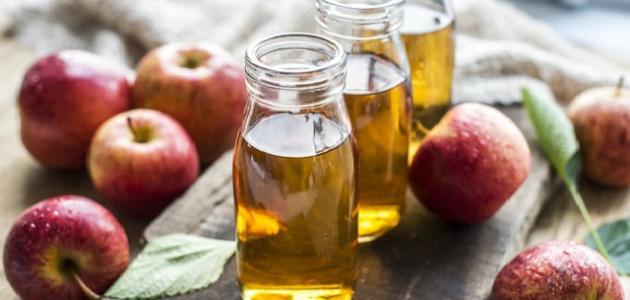 طريقة استخدام خل التفاح للتخسيس الكرش