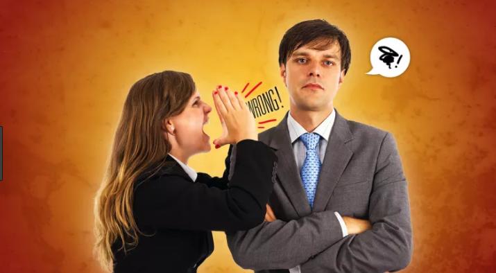كيفية التعامل مع الزوج الذي لا يعترف بخطئه