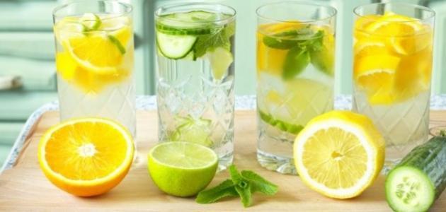 مشروبات للتخلص من الكرش