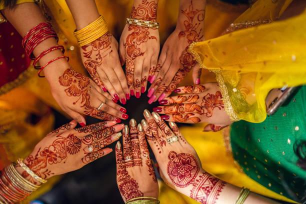 احلى نقش حناء هندي