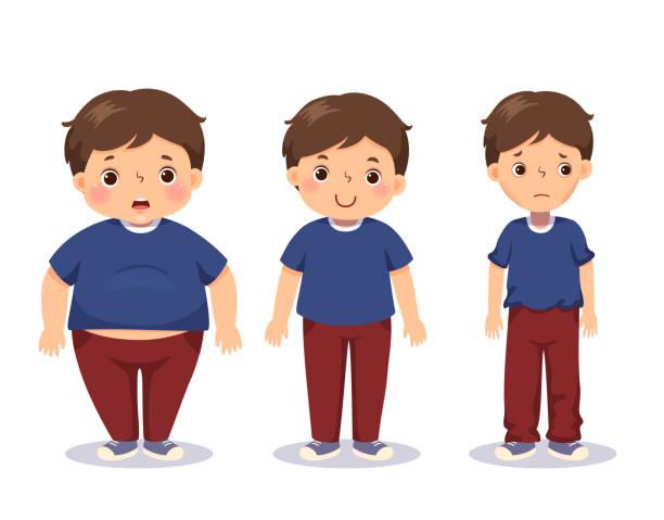 أسباب السمنة المفاجئة عند الأطفال
