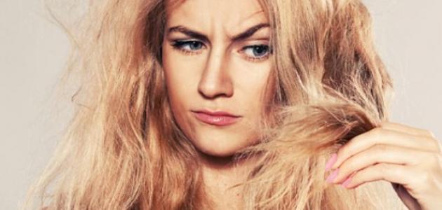 زيوت لعلاج تقصف الشعر الشديد