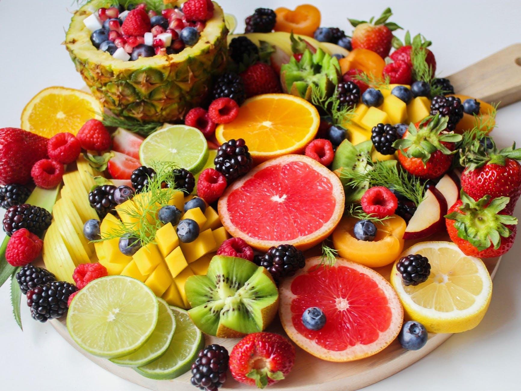 رجيم الفواكه والخضار كم ينزل